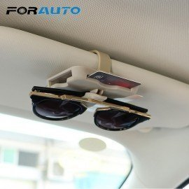 Car Sun Visor Clip High-Speed Ic Card Clip Sunglasses Holder Auto Parking Card Holder Car Organizer Car-Styling Forauto/hoodmat.com