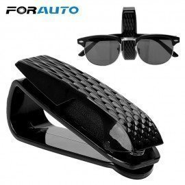 Portable Car Glasses Holder Storage Holder Sun Visor Sunglasses Eyeglasses Clip Auto Fastener Clip Glasses Cases Car Accessories Forauto/hoodmat.com