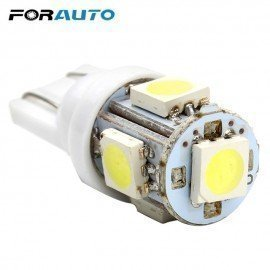 10Pcs/Lot 10*30Mm T10 5 Smd Car Led Light High Quality 5050 W5W Forauto/hoodmat.com
