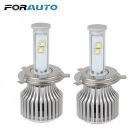 Car Styling All-In-One High Low Beam Super Bright Hi/Lo H4 Headlight 60W/Each Bulb 6000K Version Of X7 Led Forauto/hoodmat.com
