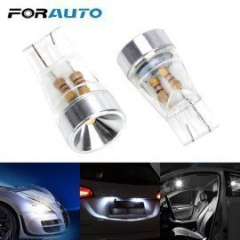 1 Pair W5W Led Car Clearance Lights T10 Car Width Lamp Dc 12V License Plate Light White Dome Bulb Auto Reading Lamp Forauto/hoodmat.com