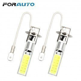 2Pcs Universal Driving Bulb Cob Led Car Headlight Super Bright H3 Headlamp Auto Fog Lamp Forauto/hoodmat.com