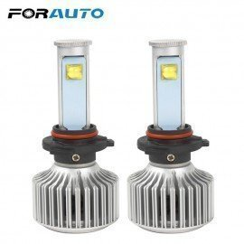 Car Styling Version Of X7 Led Headlamp 6000K 3600Lm 9006 40W/Each Bulb Super Bright All-In-One Headlight Forauto/hoodmat.com