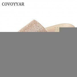 2019 Luxury Rhinestone WomenS Slippers Summer Fashion Non-Slip Lady Sandals Platform Women Slides Golden Shoes Wss350 Covoyyar/hoodmat.com