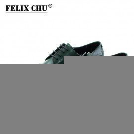 2017 Classic Men Casual Business Genuine Leather Derby Shoes MenS Flat Wedding Party Brogue Green Brown Male Footwear Felix Chu/hoodmat.com