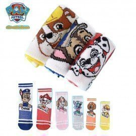 1Pairs Paw Patrol Baby Kids Socks Spring Autumn Cotton Puppy Patrol Chase Skye ChildrenS Sock For 3-9 Years Toy Gifts Genuine Wonder Toy World/hoodmat.com
