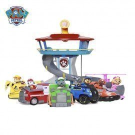 Original Paw Patrol Playset Observatory Figure Toys Patrulla Canina Puppy Patrol Action Figures Toy With Music Gigt Toys For Kid Wonder Toy World/hoodmat.com