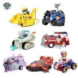 Genuine Paw Patrol Chase Marshall  Zuma Skye Everest Tracker Car Kids Toy Paw Patrol Ryder Figure Doll Christmas Birthday Toys Wonder Toy World/hoodmat.com