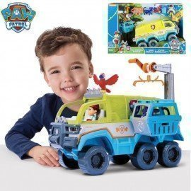 2019 Genuine Paw Patrol Puppy Patrol Terrain Vehicle With The Lights And Sounds Paw Patrols Observatory Toy Set Children Boy Toy Wonder Toy World/hoodmat.com