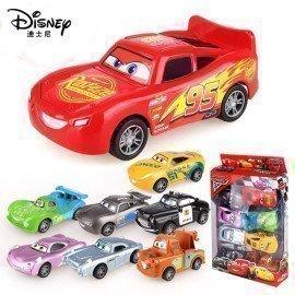 Anime 8Pc Disney Pixar Cars 3 Figure Toys For Kids Mater Jackson Storm Plastic Figurine Cars Kid Boys Christmas Gifts Toys Wonder Toy World/hoodmat.com
