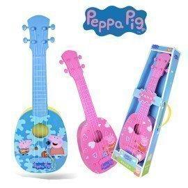 Genuine Peppa Pig 36/44 Guitar Children Musical Instruments Figure Toy Pink Blue Ukulele Guitar Peppa George Pig  Birthday Gifts Wonder Toy World/hoodmat.com
