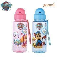 500Ml Paw Patrol Baby Kids School Drinking Water Straw Tritan Bottle Genuine Puppy Putrol Suction Cup Children Birthday Toy Gift Wonder Toy World/hoodmat.com