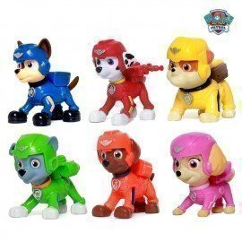 Paw Patrol Dog Patrulla Canina Toys Anime Figurine Car Puppy Patrol Plastic Toy Action Figure Model Gifts Toys For Children Wonder Toy World/hoodmat.com