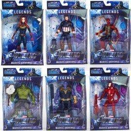 20Cm Marvel Avengers Endgame Figure Toy Anime Cpatain Marvel Ironman Thanos Spiderman Avengers 4 Led Light Model Kids Gifts Toys Wonder Toy World/hoodmat.com