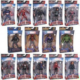 Genuine Marvel Avengers 4 Endgame Figure Models Pvc 18/30Cm Anime Avengers Ironman Spiderman Hulk Dolls Collect Kid Toy Gift Wonder Toy World/hoodmat.com