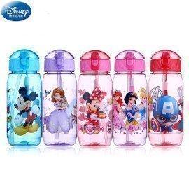 450Ml Disney Marvel Mickey Mouse Minnie Kids Feeding Cups Marvel Captain America Baby Water Feeding Tritan Cup Action Figure Toy Wonder Toy World/hoodmat.com