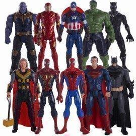 Marvel Avengers 4 Endgame Action Figure Models 30Cm Pvc Anime Avengers Thor Spiderman Hulk Thanos Dolls Collection Kid Toys Gift Wonder Toy World/hoodmat.com