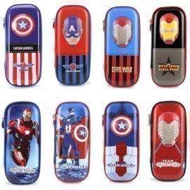 Genuine Marvel Disney Cars Pencil Bag Figure Tos Anime Frozen Avengers Spiderman Captain American Eva Pencil Bag Toy For Kids  Wonder Toy World/hoodmat.com