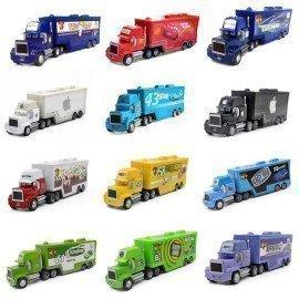 Movie Disney Pixar Cars Mack Mcqueen &Amp; Chick Hicks &Amp; King &Amp; Fabulous Hudson Cars Disney Truck Set Figure Toy Car 1:55 Loose Gift Wonder Toy World/hoodmat.com