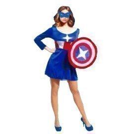 1 Piece Of Instant Costumes Captain America Lauchen/hoodmat.com