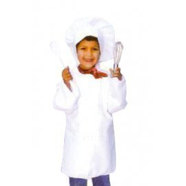 1 Piece Of Instant Costumes Child Chef Size (7-9Year Old) Lauchen/hoodmat.com