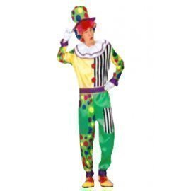 1 Piece Of Instant Costumes Clown Lauchen/hoodmat.com