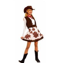 1 Piece Of Instant Costumes Cow Girl Lauchen/hoodmat.com