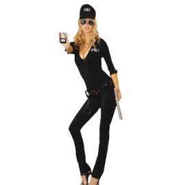1 Piece Of Instant Costumes Elegant Moment Fbi Agent Lauchen/hoodmat.com