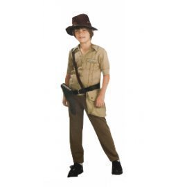 1 Piece Of Instant Costumes Kid Economy Indiana Jone Size (7-9Year Old) Lauchen/hoodmat.com