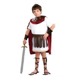 1 Piece Of Instant Costumes Kid Roman Gladiator Size (7-9Year Old) Lauchen/hoodmat.com