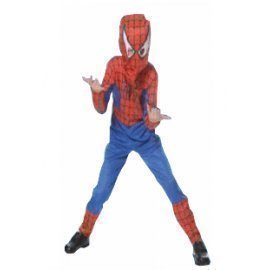 1 Piece Of Instant  Costumes Kids Spider Hero Size (7-9Year Old) Lauchen/hoodmat.com