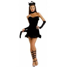 1 Piece Of Instant Costumes Kissable Kitty Lauchen/hoodmat.com