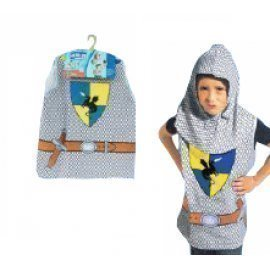 1 Piece Of Children  Knight Costumes Size (3-7Year Old ) Lauchen/hoodmat.com