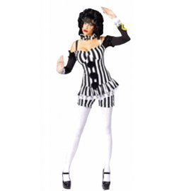 1 Piece Of Instant Costumes Merry Mime Lauchen/hoodmat.com