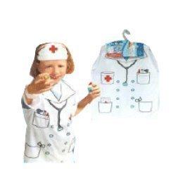 1 Piece Of Children  Nurse Costumes Size (3-7Year Old ) Lauchen/hoodmat.com
