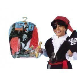 1 Piece Of Pirate Dress Up Size (3-7Year Old) Lauchen/hoodmat.com