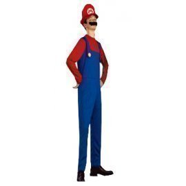 1 Piece Of Instant Costumes Kid Mario Size (7-9Year Old) Lauchen/hoodmat.com