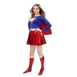 1 Piece Of Instant Costumes Teen Supergirl Lauchen/hoodmat.com