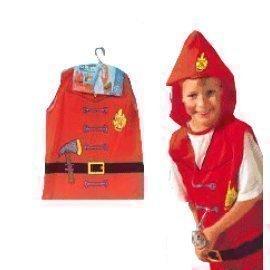 1 Piece Of Fireman Size (3-7Year Old ) Lauchen/hoodmat.com