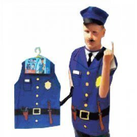 1 Piece Of Children  Police Costumes Size (3-7Year Old ) Lauchen/hoodmat.com