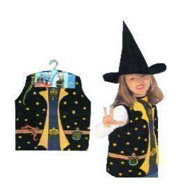 1 Piece Of Children  Witch Costumes Size (3-7Year Old ) Lauchen/hoodmat.com