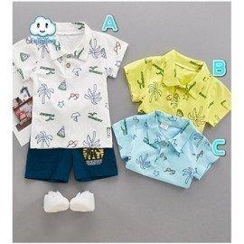 Summer Boys Clothing Set(Baby &Amp; Kid Boy Clothing Set) 2018 Affodable Wholesale Hoodmat