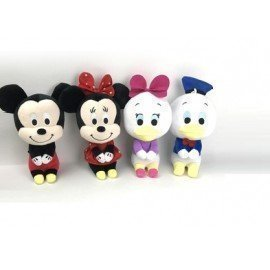 1 Pieces Of  2017 Hot Plush Toys Mickey Mouse Mini Cute Minnie Doll For Claw Machine Christmas Birthday Gift Toys For Kids Support Custom ][Retail Purchase|Hoodmat.Com