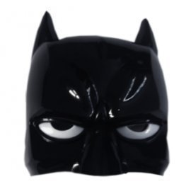 1 Pieces Of  Simple Design Children Cartoon Face Mask Halloween Pary Felt Batman Mask Led Mask ][Retail Purchase|Hoodmat.Com