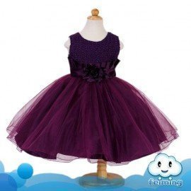 1 Pieces Of  Party Dress For Children Available With Various Sizes ][Retail Purchase|Hoodmat.Com