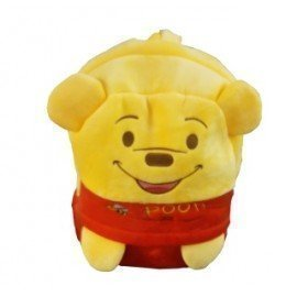 1 Pieces Of  Plush Pooh Backpack Carton Animated School Children Bag For Kid Size 35 By 27 By 12 (Medium) ][Retail Purchase|Hoodmat.Com