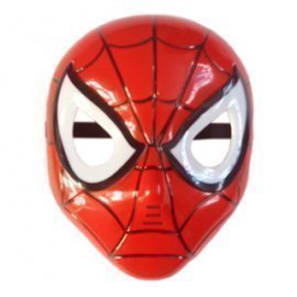 1 Pieces Of  Simple Design Children Cartoon Face Mask Halloween Pary Felt Super Hero Avengers (Spiderman)Mask Led Mask ][Retail Purchase|Hoodmat.Com